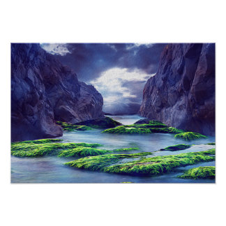 Magestic Beauty Poster