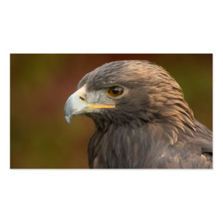 Magestic Golden Eagle Customizable Business Card
