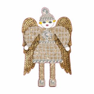Magestic Martzkin Angel Ornament Photo Cutouts