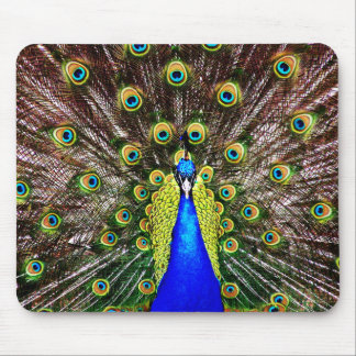 Magestic Peacock Mouse Pad