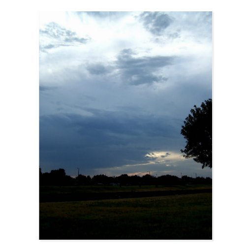 Magestic sky post card