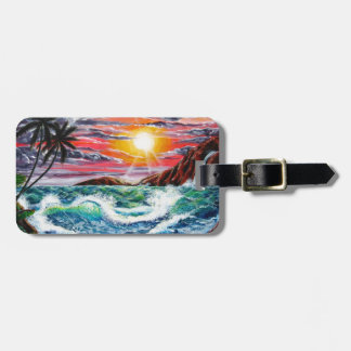 Magestic Sunset - Seascape by Galina - Luggage Tag