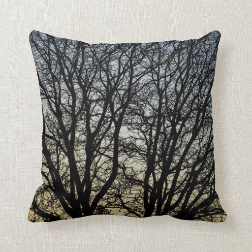 Magestic Tree Closeup Pillows