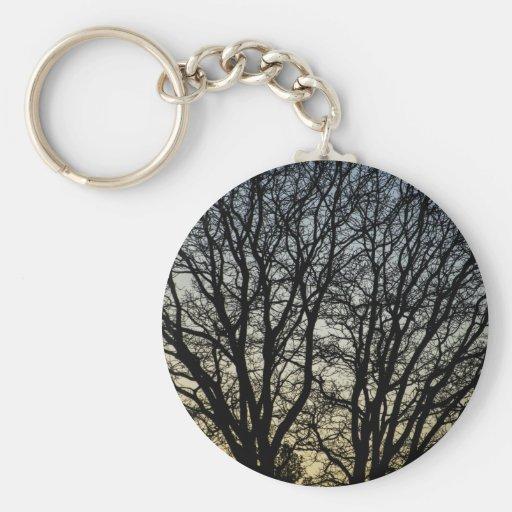 Magestic Tree Closeup Keychain