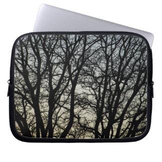 Magestic Tree Closeup Laptop Computer Sleeves