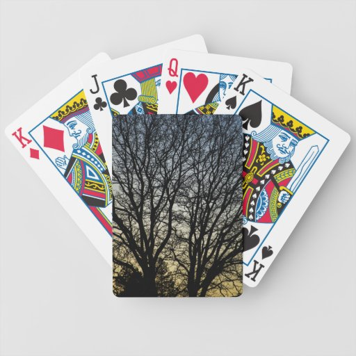 Magestic Tree Closeup Bicycle Poker Cards