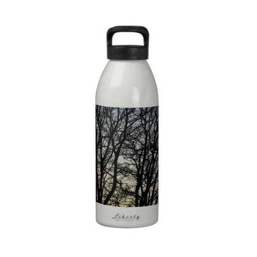 Magestic Tree Closeup Water Bottles