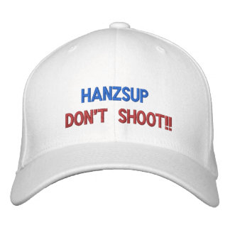 MaggHouze Hanzup Don't Shoot Baseball Cap