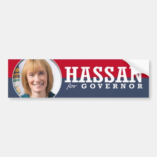 MAGGIE HASSAN CAMPAIGN BUMPER STICKER