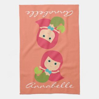 Maggie Mermaid Tea Towel