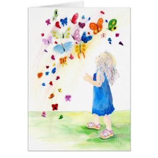 Maggies Butterflies Greeting Card