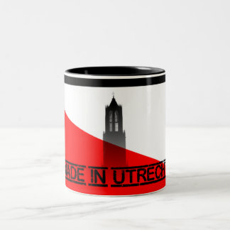 Maggot in Utrecht Two-Tone Mug