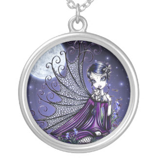 """""""Maggy"""" Gothic Moon Fairy Necklace"""