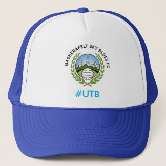 magherafelt sky blues f.c hat