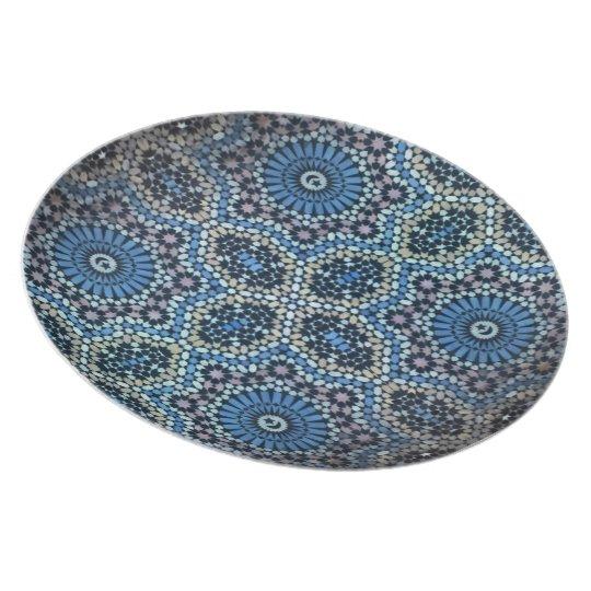 Maghrebi mosaic plate