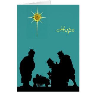 Magi Hope Christmas Card