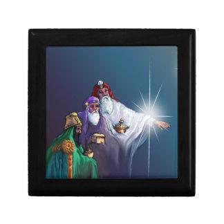 MAGI KINGS WISEMEN by SHARON SHARPE Small Square Gift Box