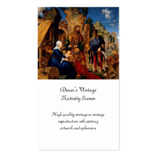 Magi Worship Baby Jesus Pack Of Standard Business Cards
