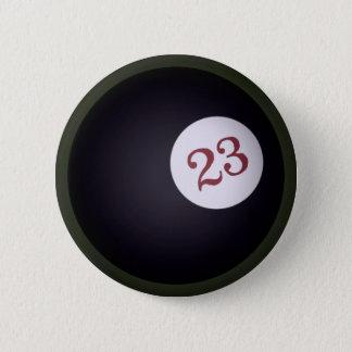 Magic 23 Ball of Chaos 6 Cm Round Badge