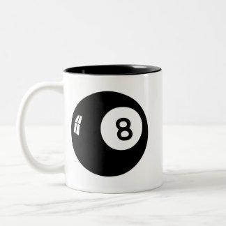 Magic 8 Ball Two-Tone Mug