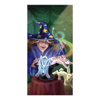 Magic Act Photo Card Template