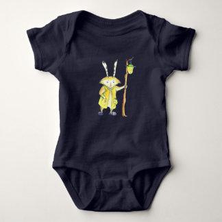 Magic Animal with Lantern baby bodysuit