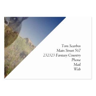 Magic Animals GORILLA Business Card Templates