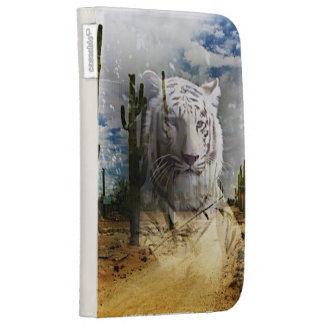Magic Animals White Tiger Kindle Keyboard Covers