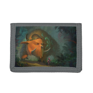 Magic Bear TriFold Nylon Wallet
