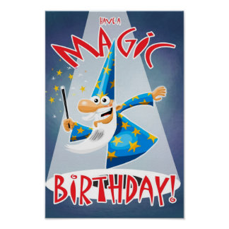 Magic Birthday Posters