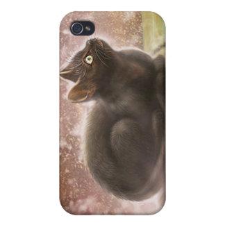 Magic Black Cat iPhone 3 Case Cover For iPhone 4