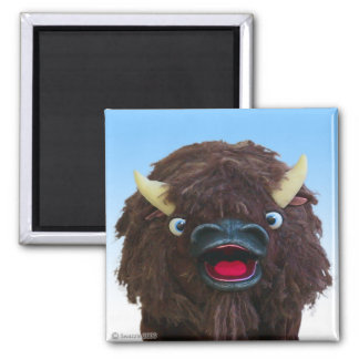 Magic Buffalo Magnet