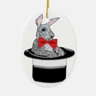 Magic Bunny Christmas Ornament