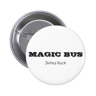 MAGIC BUS Sixties Rock button