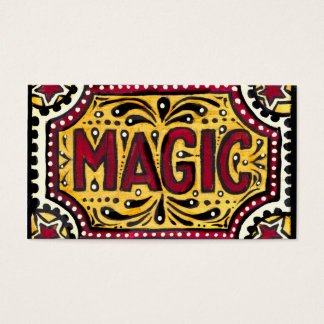 Magic Business Card
