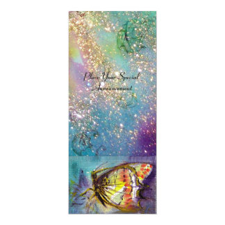 MAGIC BUTTERFLY 10 CM X 24 CM INVITATION CARD
