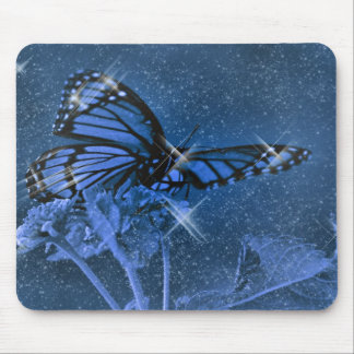 Magic Butterfly Mouse Pad