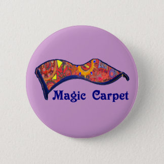 Magic Carpet 6 Cm Round Badge