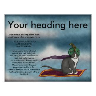Magic Carpet Cat, flyer