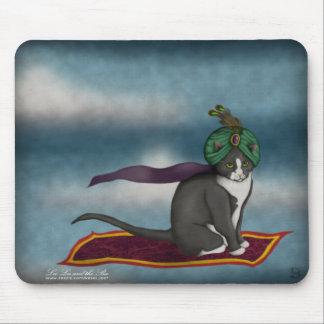 Magic Carpet Cat, mousepad Mouse Pad