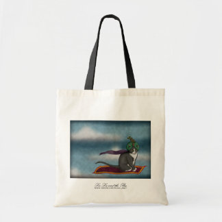 Magic Carpet Cat, shopping bag