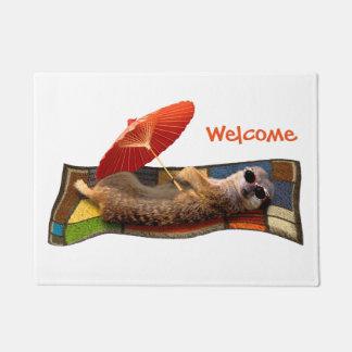 Magic Carpet Ride Door Mat (Choose Colour)