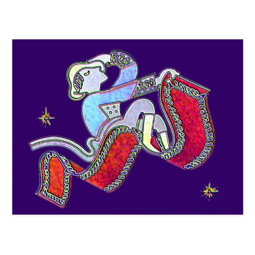 'Magic Carpet Ride Postcard