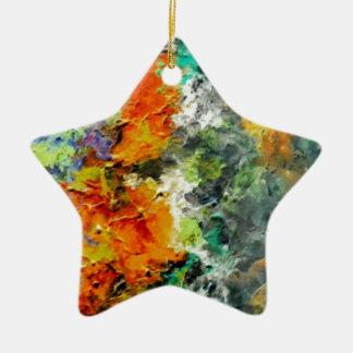 Magic Ceramic Star Decoration