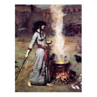 Magic Circle 1886 Waterhouse Postcard