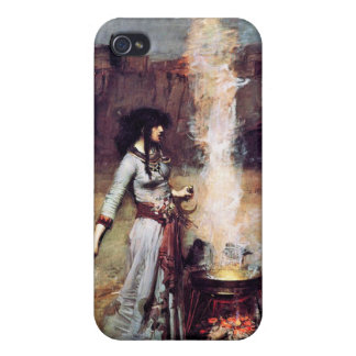 Magic Circle Vintage Pre-Raphaelite  iPhone 4/4S Cover