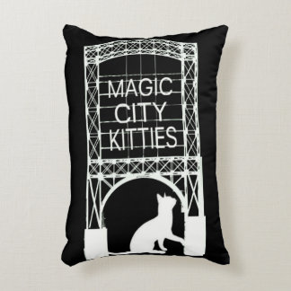 Magic City Kitties Accent Pillow