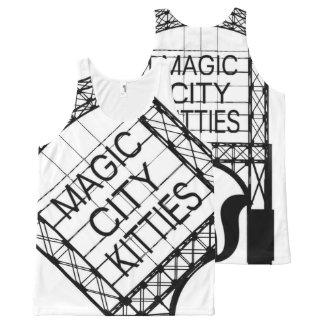 Magic City Kitties All Over Tank All-Over Print Tank Top