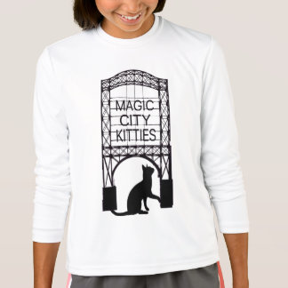 Magic City Kitties Kids Long Sleeve T-shirt