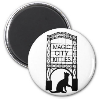 Magic City Kitties Magnet